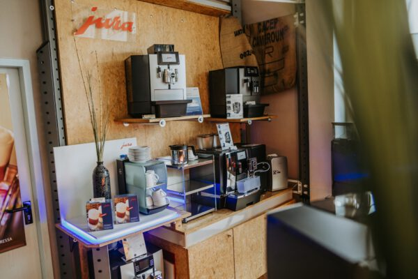 Ausstellung. Unser JURA Gastro Bereich.